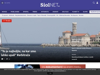 Siol.net - Novice, Sportal, Spletna pošta, TV spored