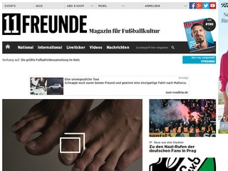 11 freunde liveticker bundesliga videos shop magazin ticker. Black Bedroom Furniture Sets. Home Design Ideas